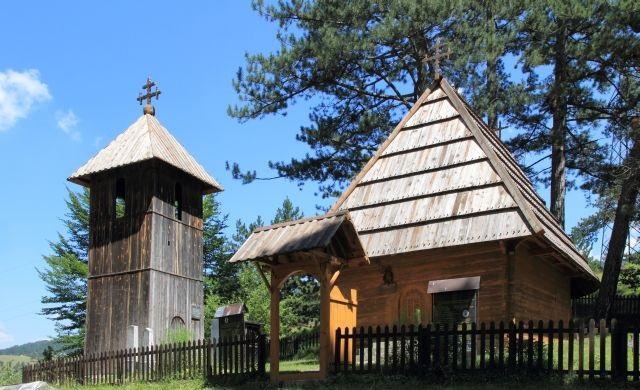 Crkvа brvnаrа u Јаblаnici