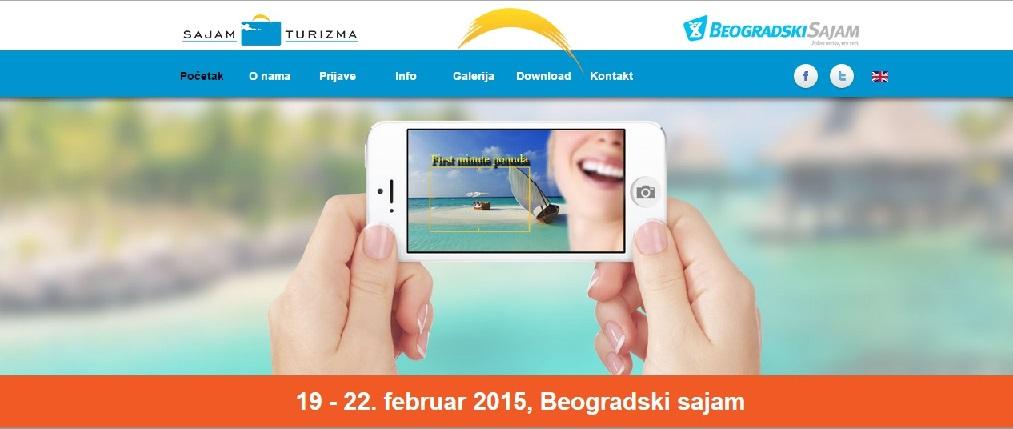 Beogradski sajam turizma 19.-22. februar 2015.,