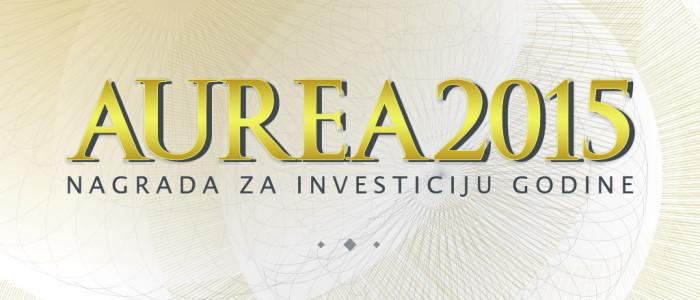 AUREA 2015 - Nagrada za investiciju godine
