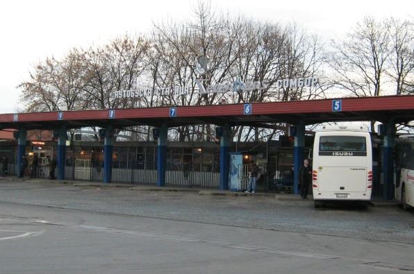 Autobuska stanica - Sombor