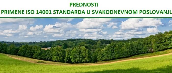 Prednosti primene ISO 14001 standarda u svakodnevnom poslovanju