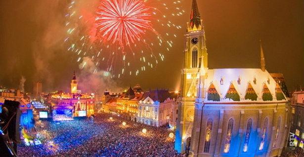 Docek nove godine u Novom Sadu