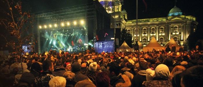 Doček nove godine - Beograd