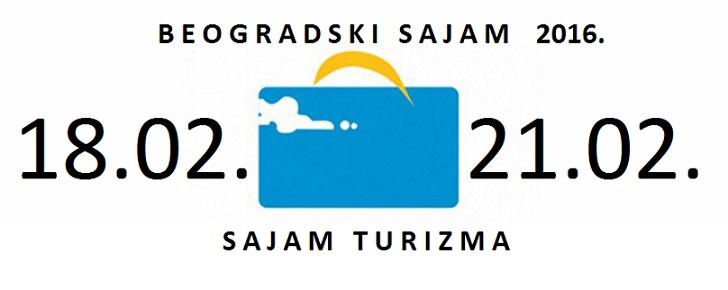 Sajam turizma Beograd 2016
