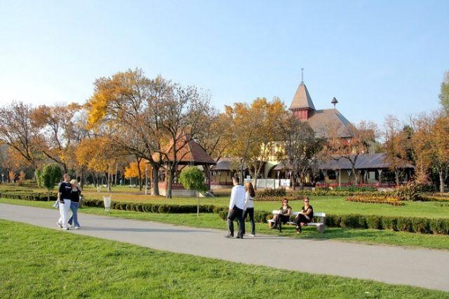 Veliki park, Palić
