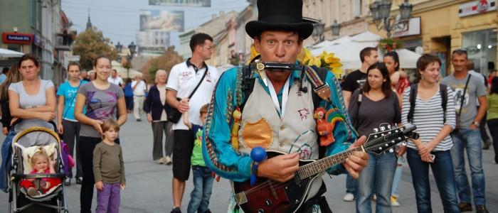 Festival uličnih svirača 1.-3.Sept.2016.