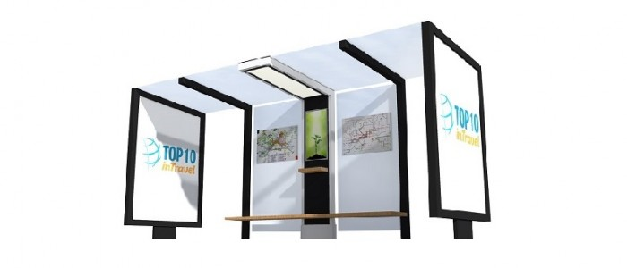 Pametna Autobuska Stajališta na solarnu energiju - PetroSOLAR – BUS Stop