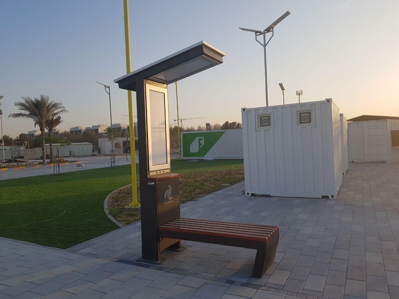 Novosadske pametne klupe isporucene za Abu Dabi / UAE